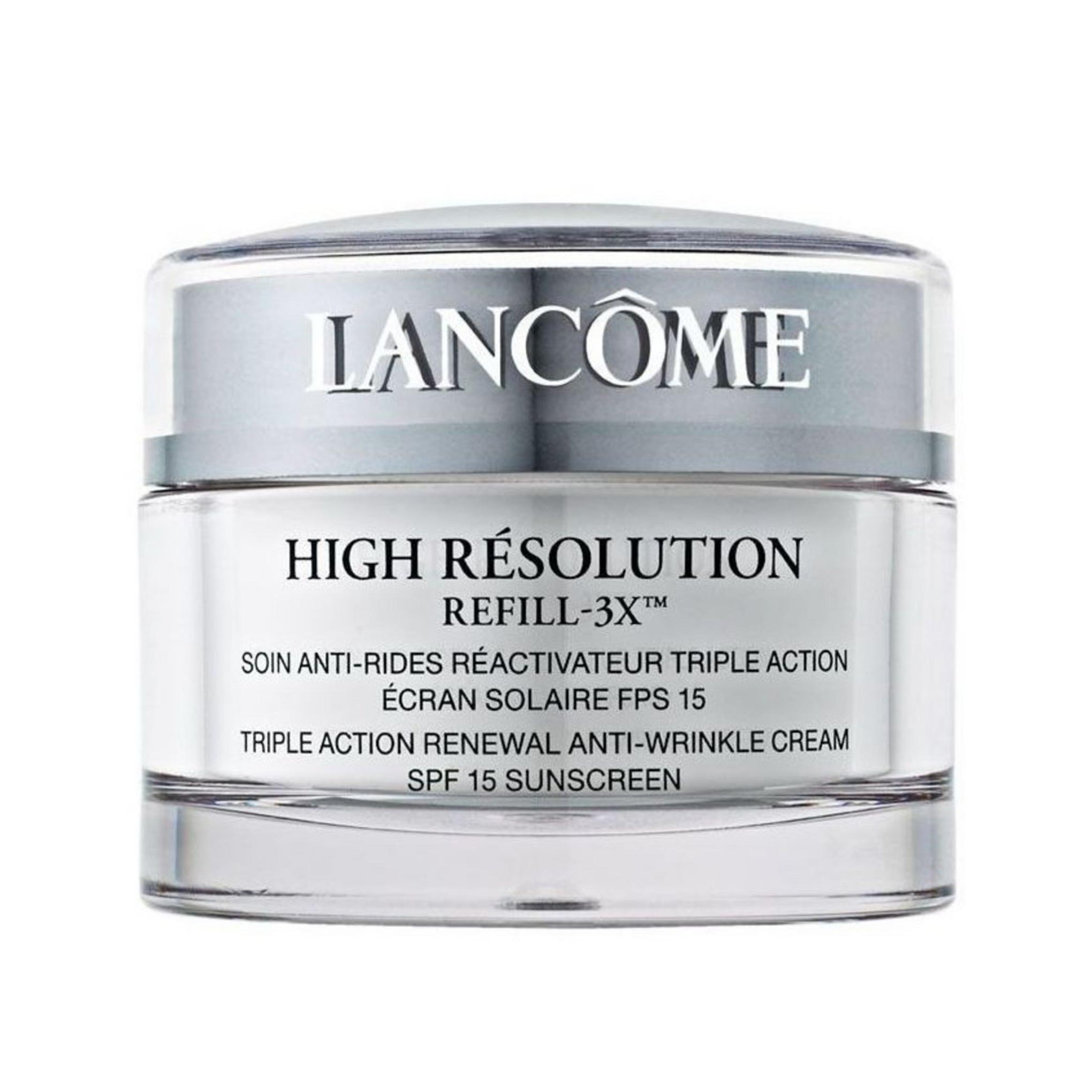 【6折】Lancome 兰蔻 High Résolution Night Refill-3X 晚霜 75ml