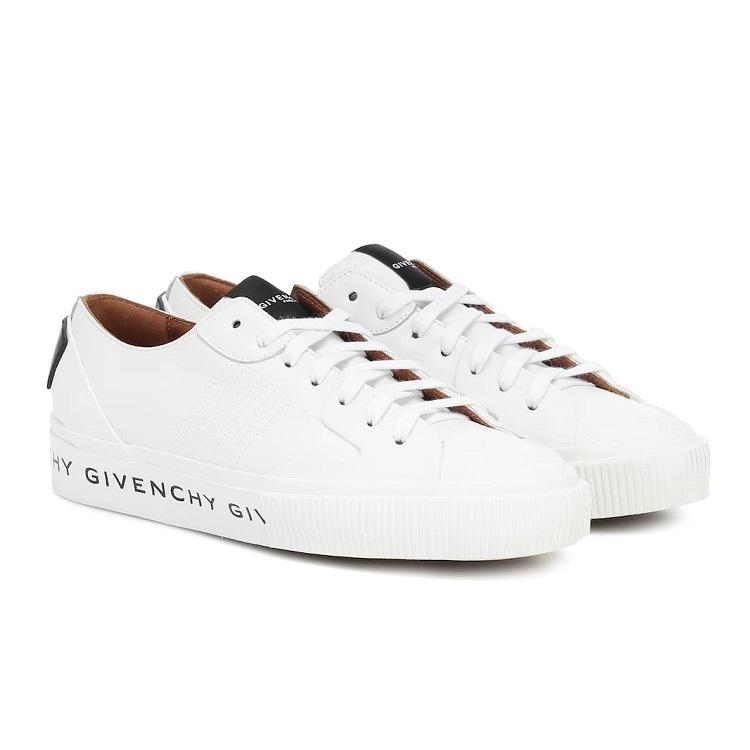 【7折】GIVENCHY Tennis Light 皮革小白鞋
