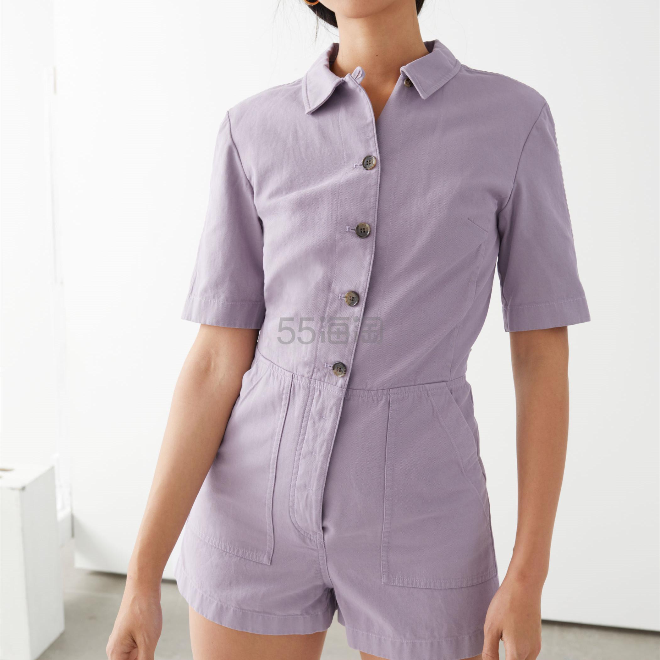 【5.4折!】&other stories 浅紫色连衣短裤