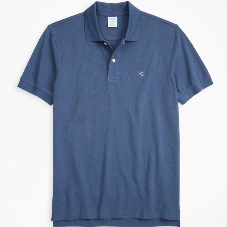Brooks Brothers 经典纯色 POLO 衫