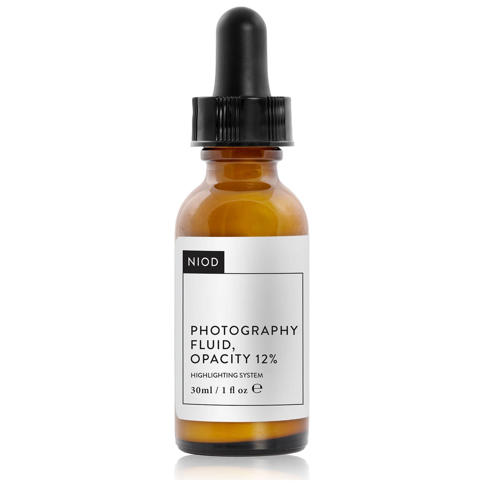 NIOD Photography Fluid, Colorless, Opacity 12% (30ml)