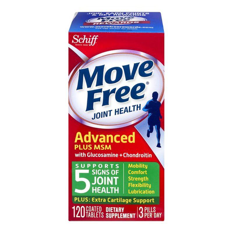 Schiff Move Free 维骨力 葡萄糖胺软骨素+MSM 绿盒 120粒