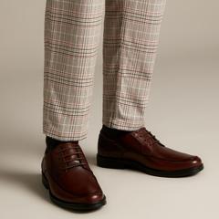 【4.5折】Clarks 其乐 Un Aldric Park Tan 男士皮鞋