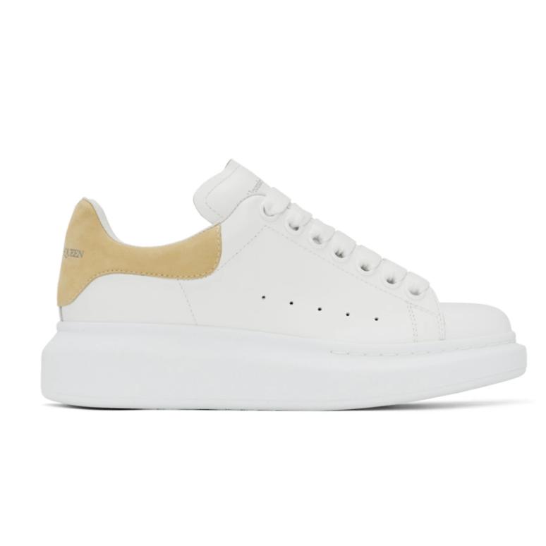 Alexander McQueen 黄尾小白鞋