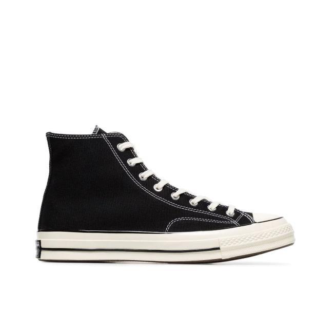 Converse Chuck 70 中性款黑色高帮帆布鞋