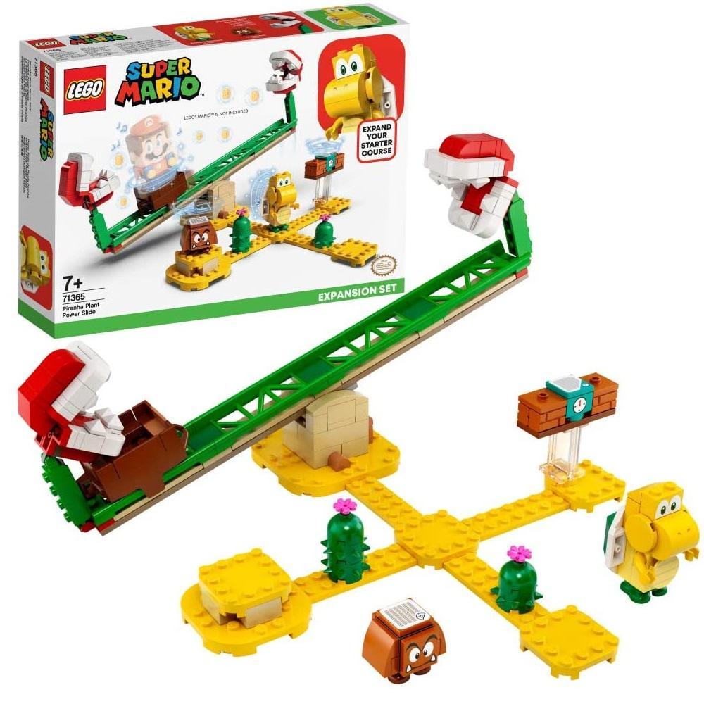 新品!LEGO 乐高 超级马里奥系列 吞食花滑板扩展关卡 71365