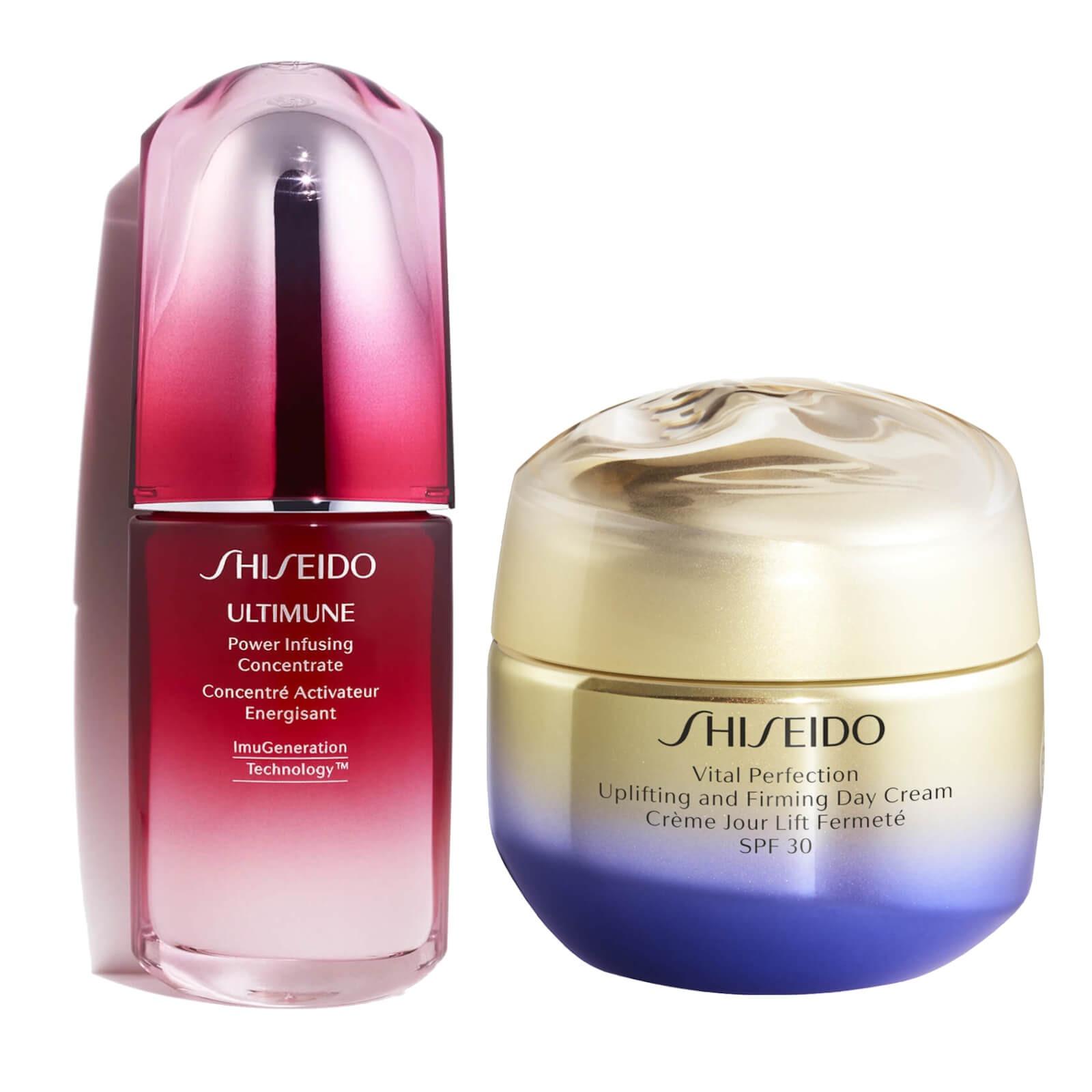 Shiseido 资生堂 悦薇提拉日霜和红妍肌活精华露套装