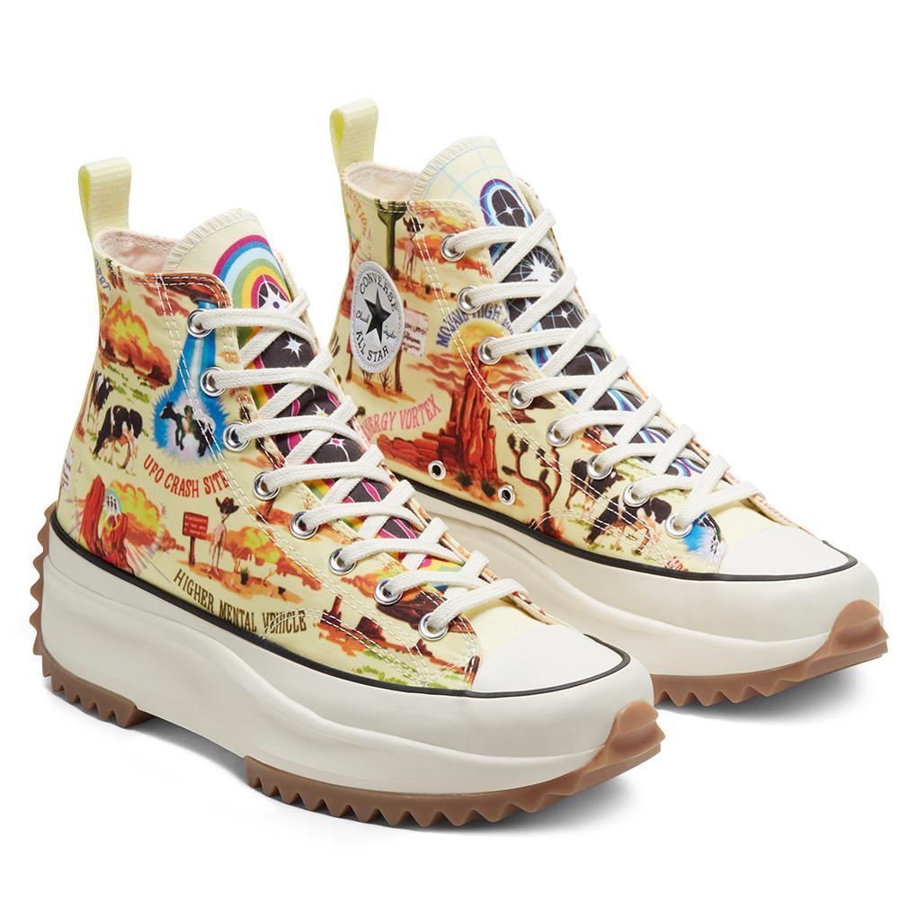 Converse 匡威 Run Star Hike 趣味图案高帮鞋
