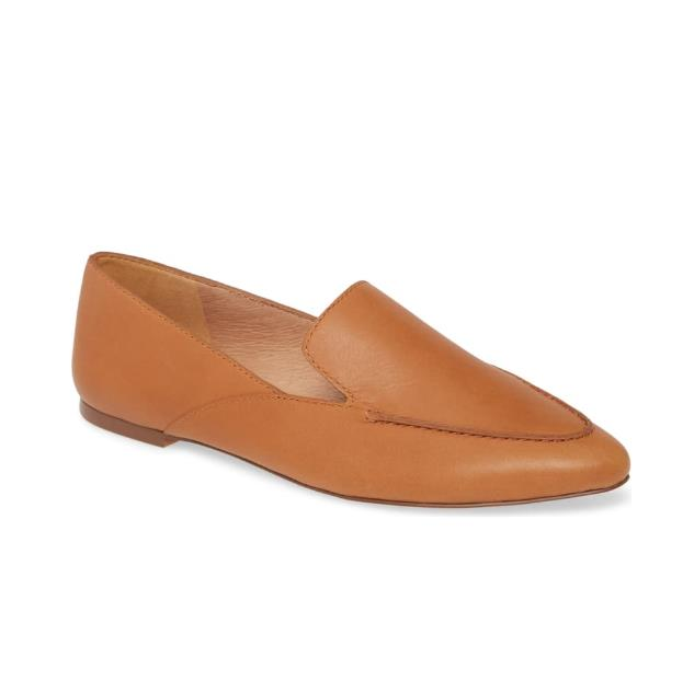 MADEWELL The Ian Skimmer 真皮平底鞋