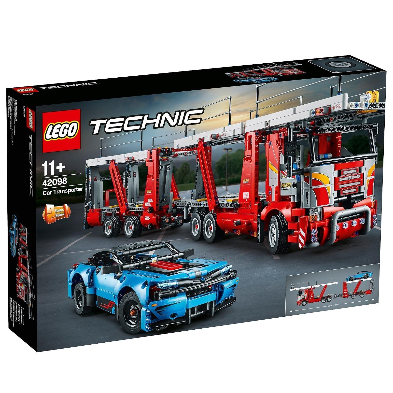 LEGO 乐高 Technic 机械组汽车运输车(42098)