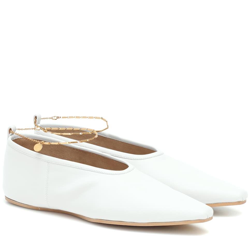 STELLA MCCARTNEY 脚链平底鞋