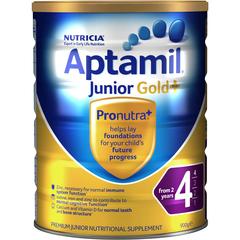 小降!Aptamil 爱他美 婴儿金装奶粉 4段 900g