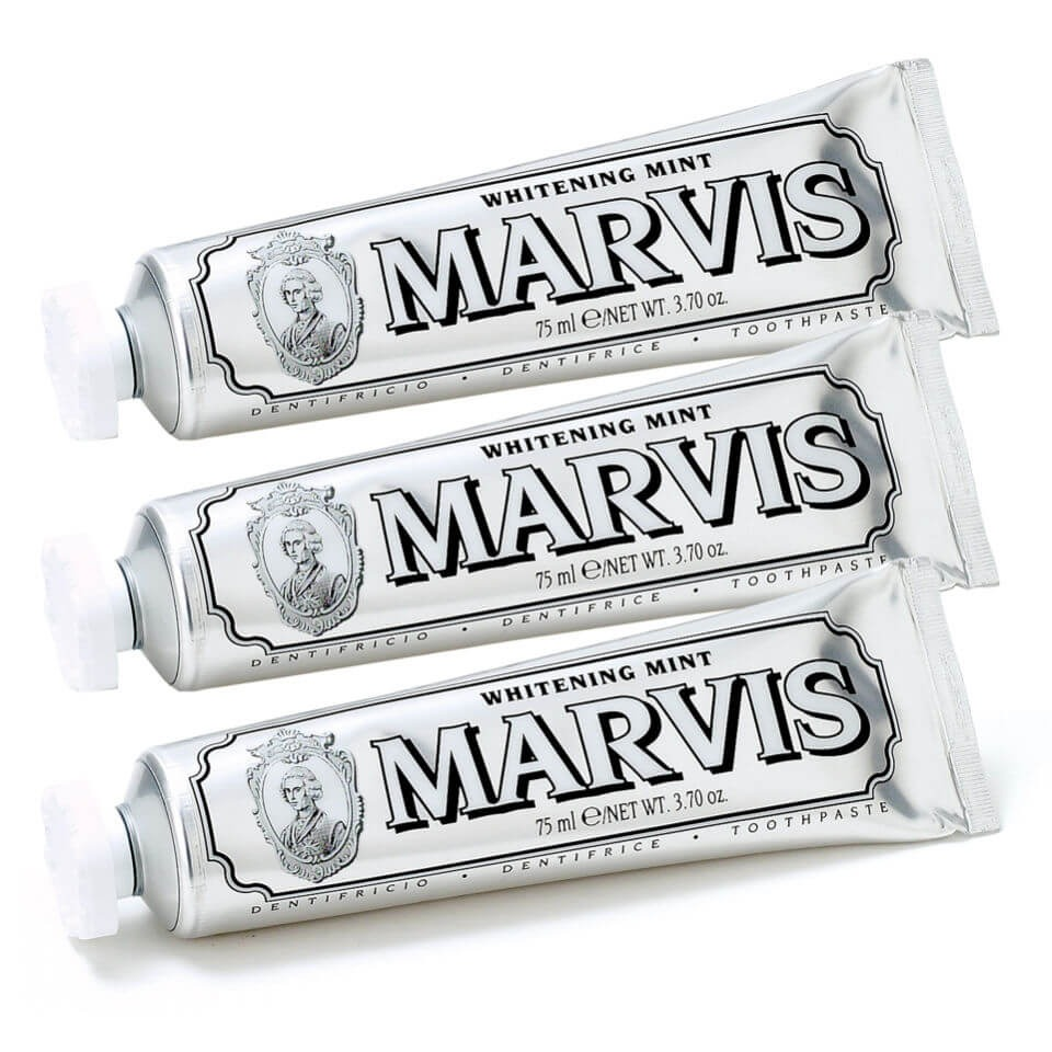 Marvis 薄荷清新口气牙膏套装 3*85ml