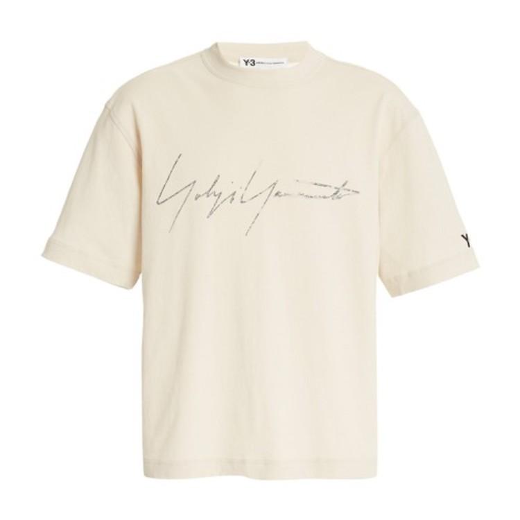 Y-3 字母图案T恤