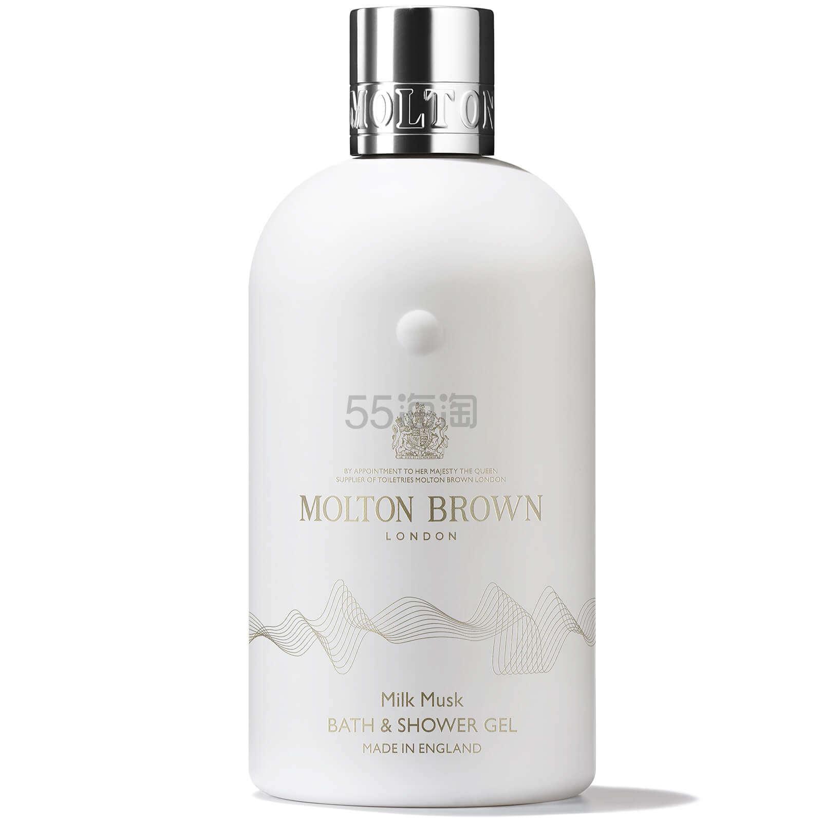 【满£60最高享8折】Molton Brown 牛奶麝香沐浴露 300ml