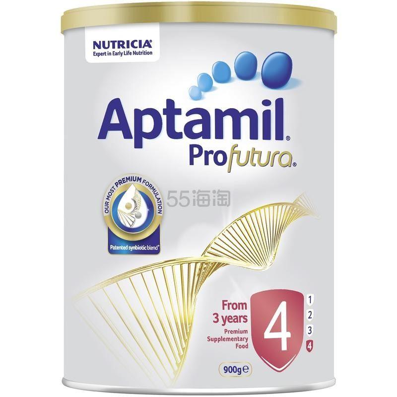 Aptamil 爱他美 白金版婴儿奶粉4段 900g
