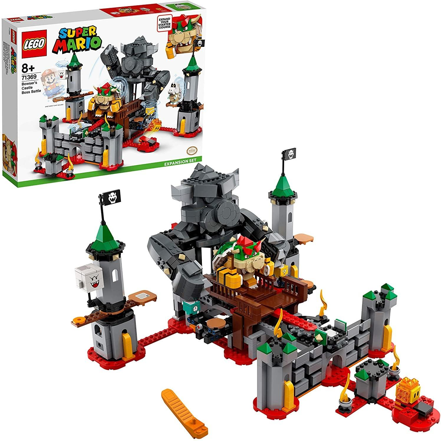 LEGO 乐高 超级马力欧 酷霸王城堡 71369