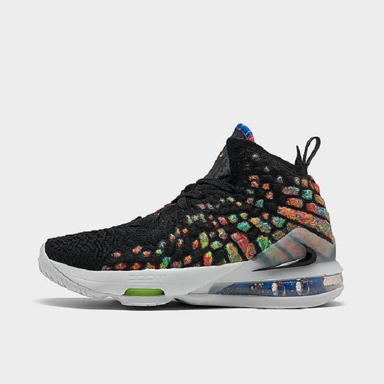 Nike 耐克 LeBron 17 詹姆斯战靴大童款篮球鞋