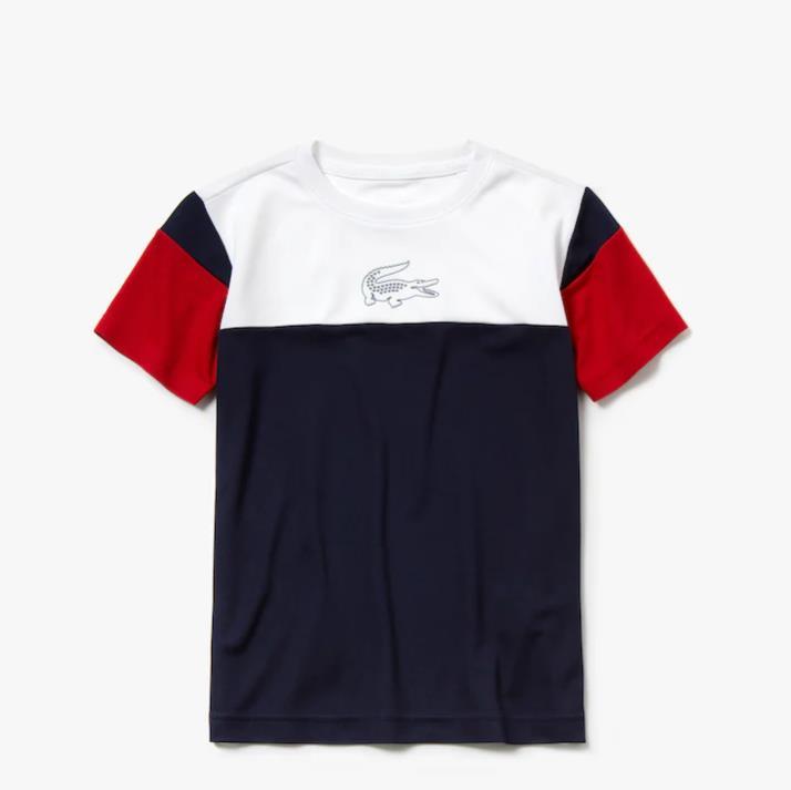 Lacoste 鳄鱼童款网球T恤衫