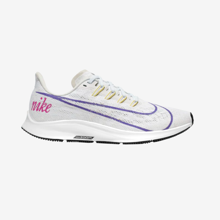 Nike Air Zoom Pegasus 36 耐克女款跑鞋 飞马白紫