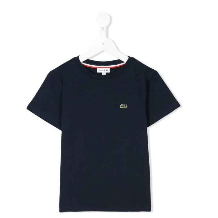 Lacoste Kids logo印花童款T恤