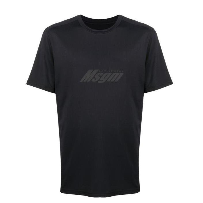 MSGM logo印花男士T恤