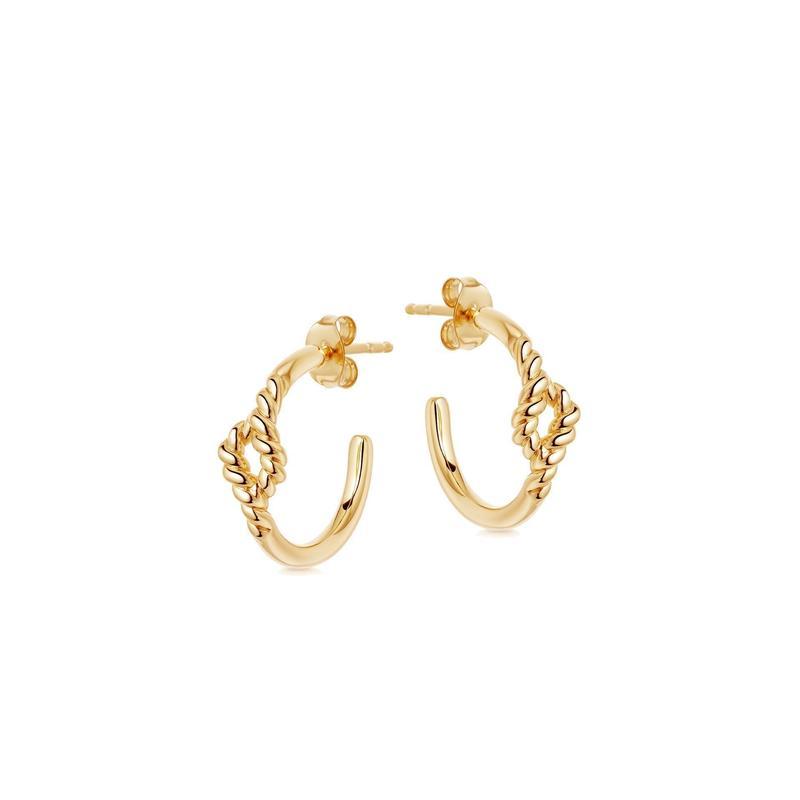 Missoma 金色绳箍耳环