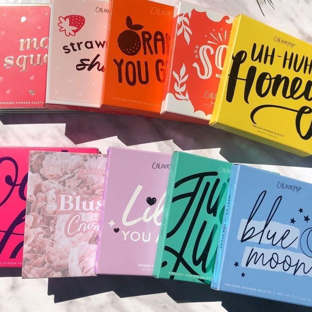 Colourpop 美国官网:精选眼影盘、超值套装等