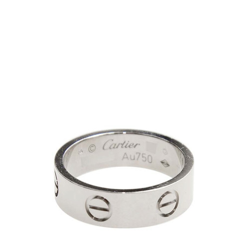 Cartier 卡地亚 LOVE 系列戒指经典款 18K白金 B40847