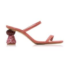【4折】JACQUEMUS Les Mules Vallena 绒面革凉鞋