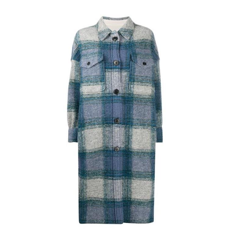 Isabel Marant Étoile Gabrion 超大款衬衫式大衣