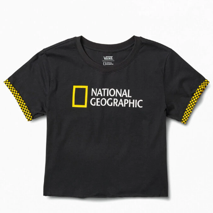 Vans x National Geographic 联名 Roll Out T恤