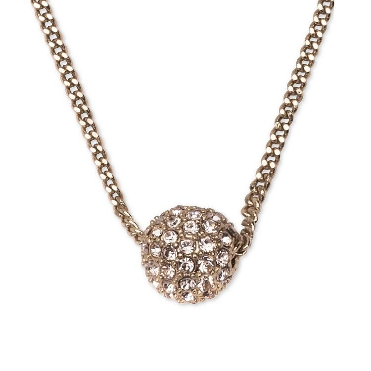 Givenchy 纪梵希 火球玫瑰金锁骨链