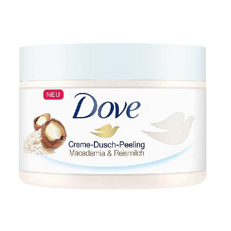 Dove多芬 坚果米浆冰淇淋身体磨砂膏 225ml*4罐装