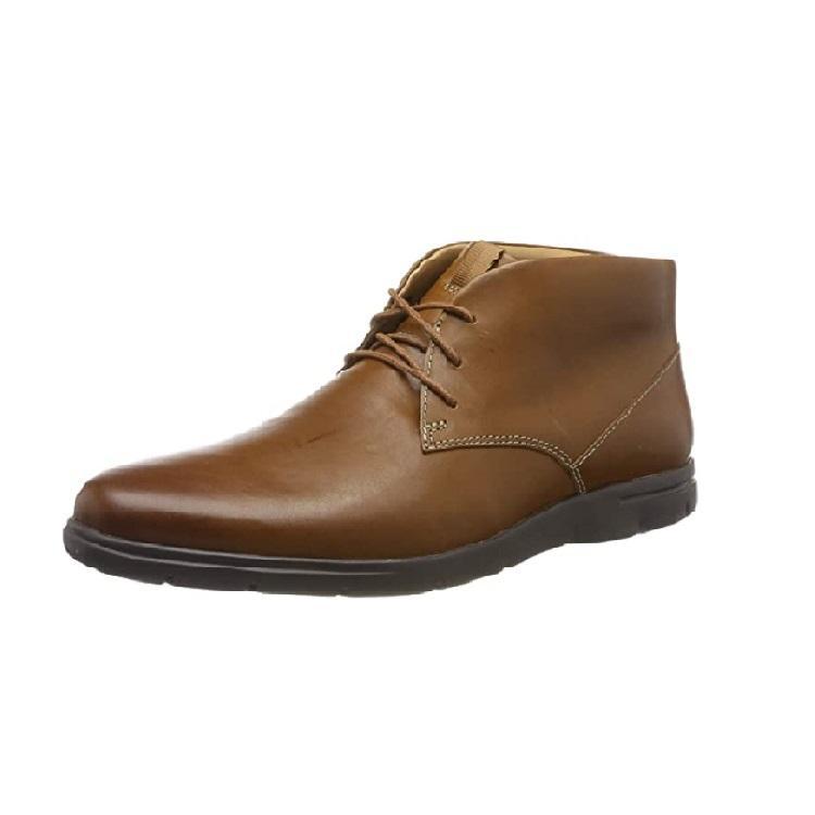 Clarks Vennor Mid 男士真皮踝靴