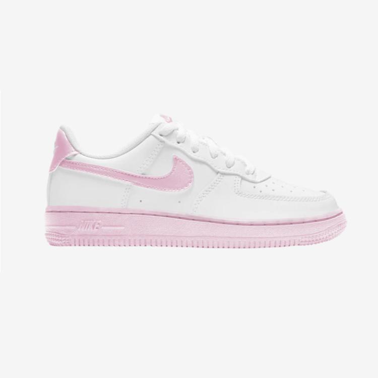 Nike 耐克 Air Force 1 Low 空军一号低帮白粉中童款
