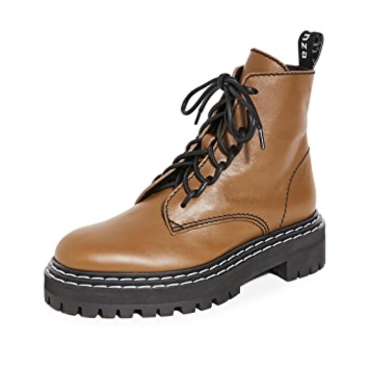 Proenza Schouler 系带踝靴