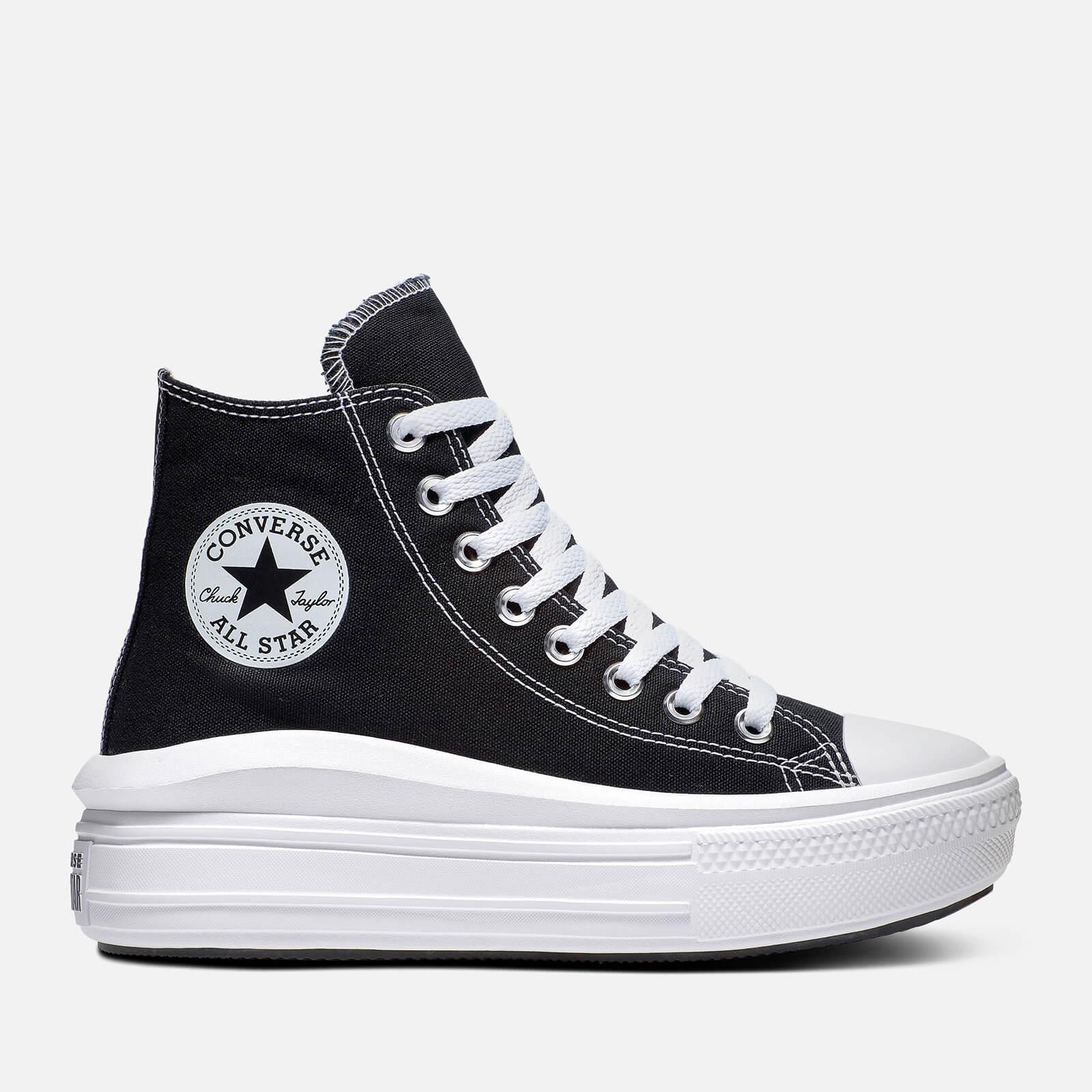 Converse All Star Move 厚底帆布鞋