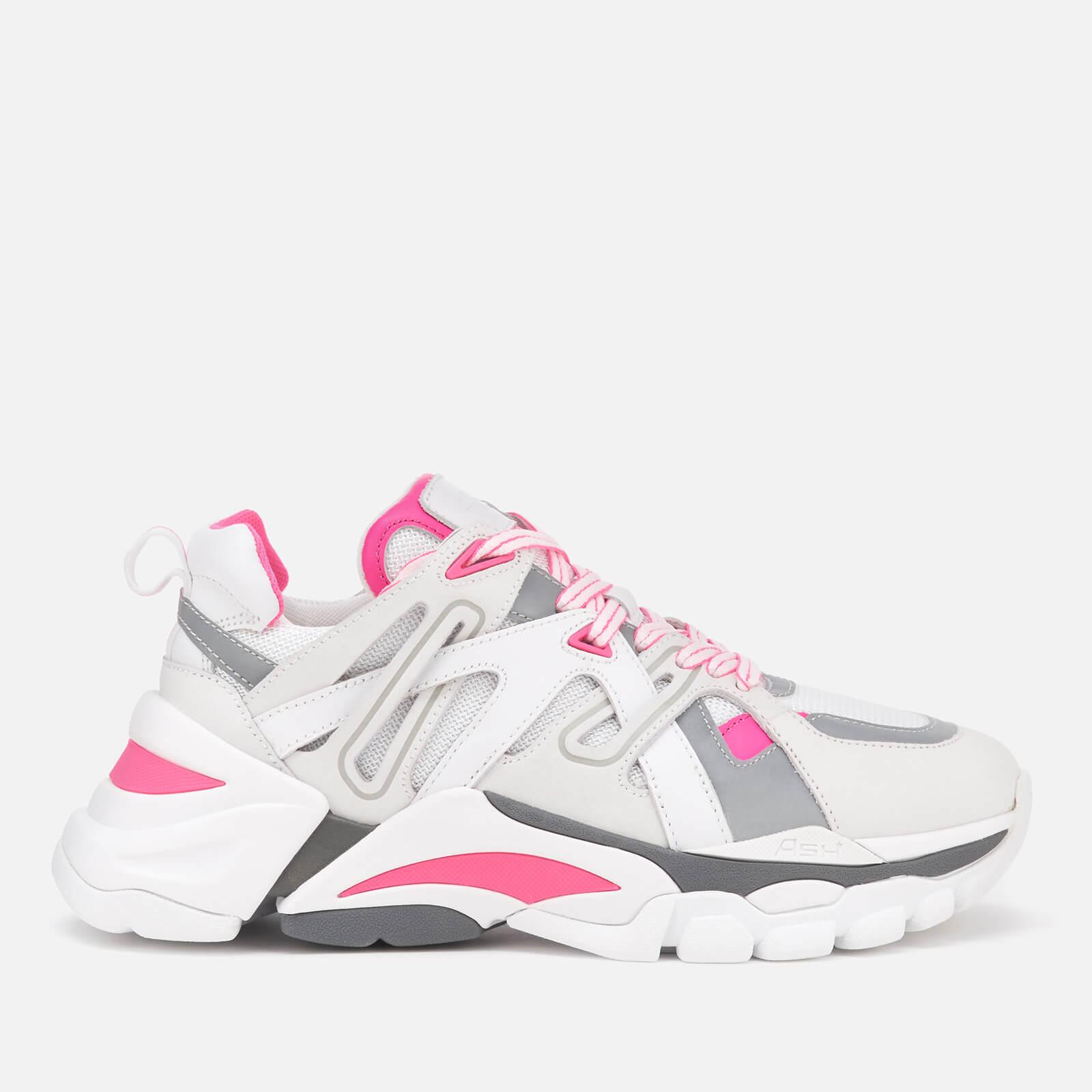 Ash 亮粉色老爹鞋