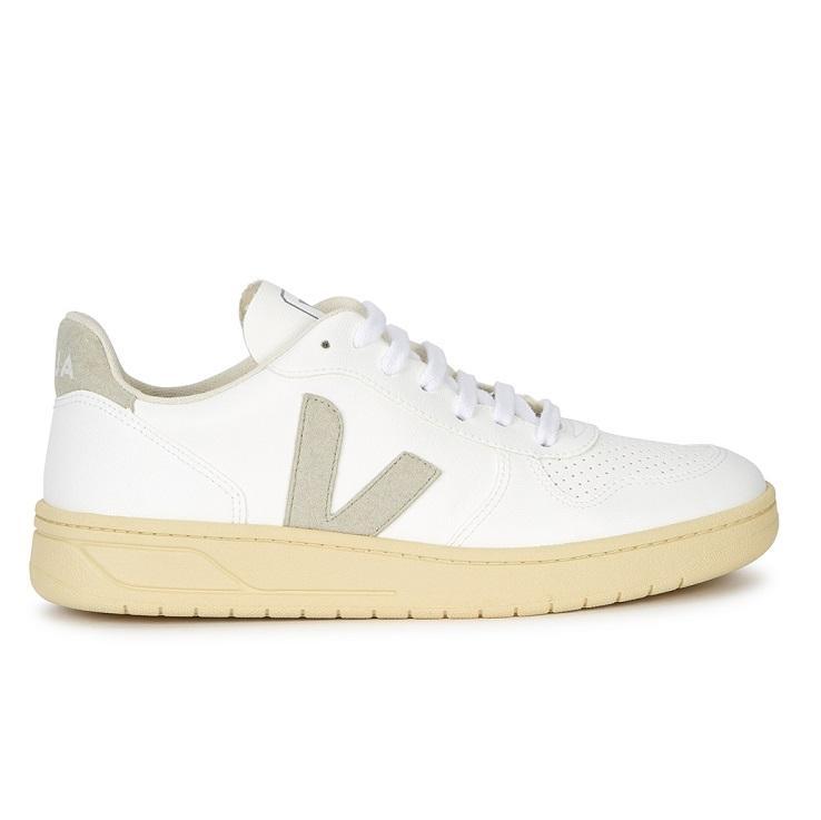 VEJA V-10 女士白色复古运动鞋