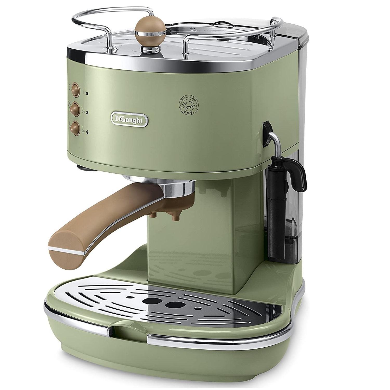 De'Longhi 德龙 Icona 复古泵压式咖啡机 KBOV2001.GR