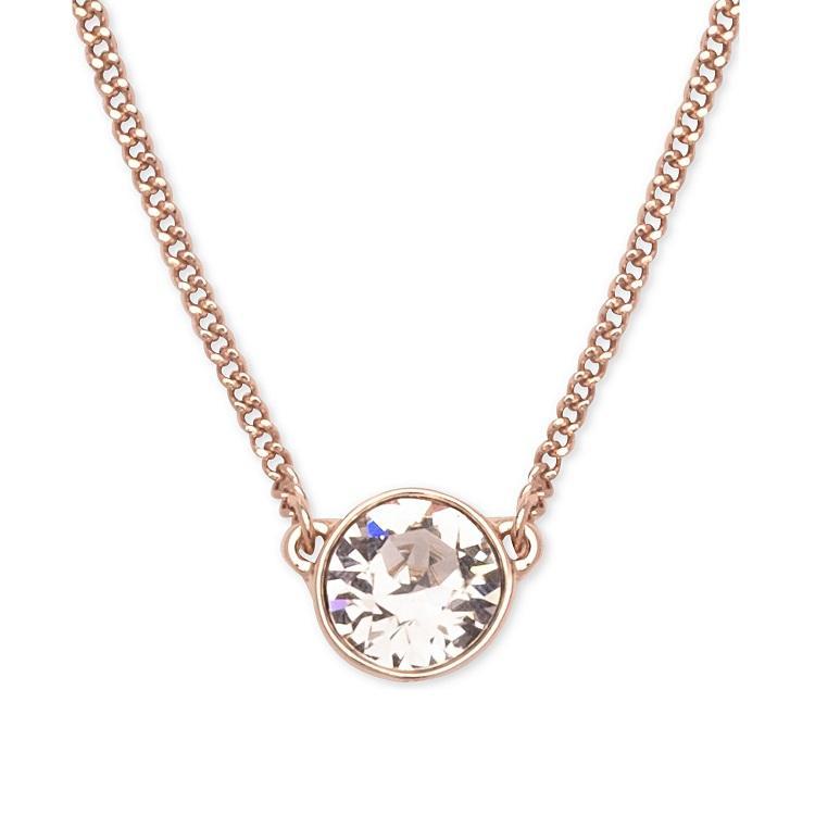 Givenchy 纪梵希 施华洛世奇水晶单钻吊坠项链