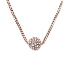 【7折】三色可选!Givenchy 纪梵希 火球玫瑰金锁骨链
