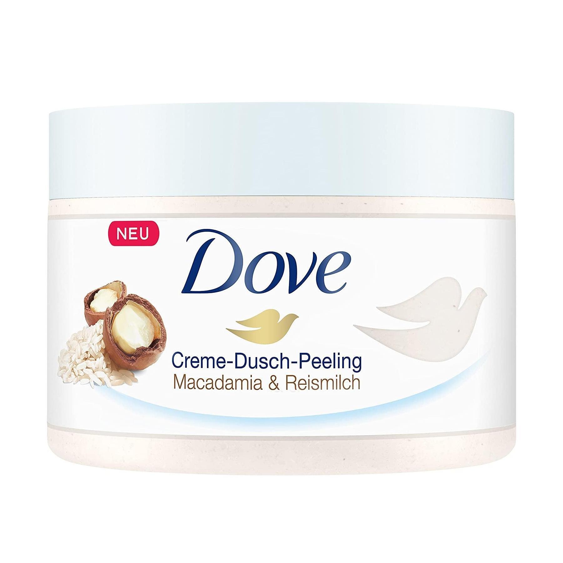 低价!Dove 多芬 坚果米浆冰淇淋身体磨砂膏 225ml*4罐