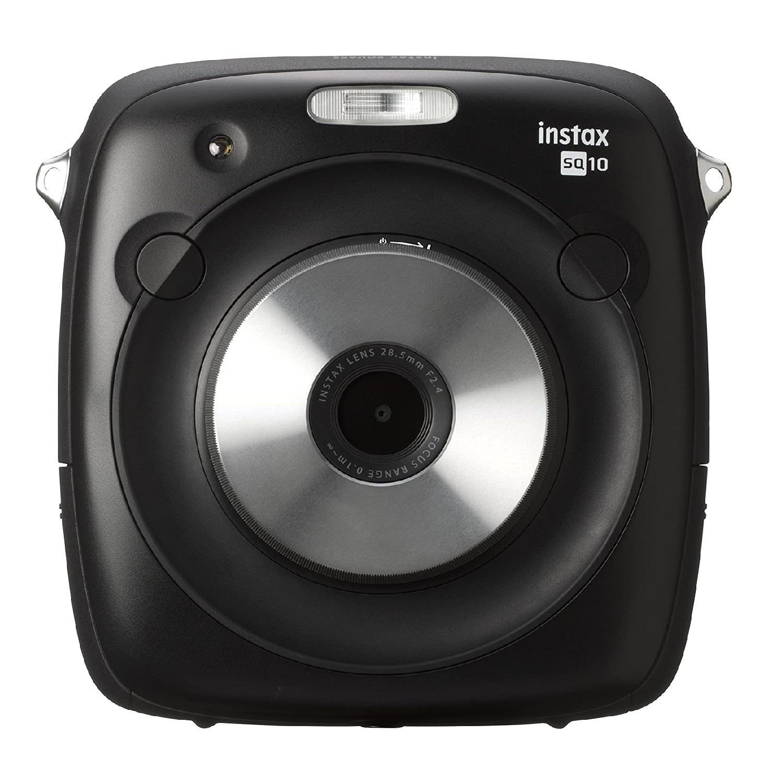 Fujifilm富士 instax SQ10 数码相机 拍立得 黑色