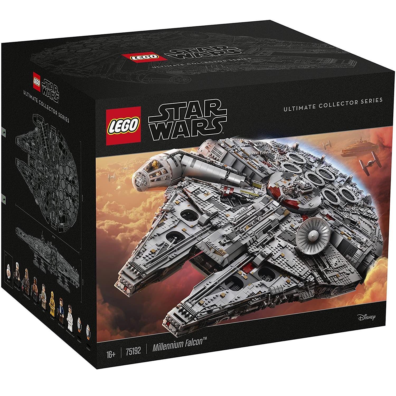 近期好价!LEGO 乐高 星球大战系列 75192 豪华千年隼