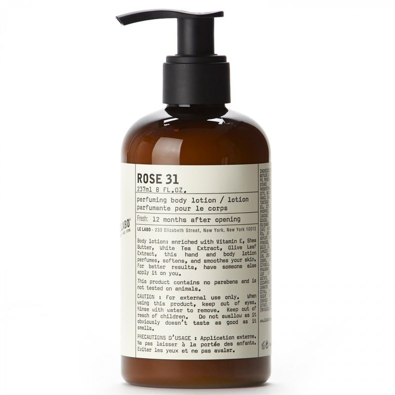 Le Labo 香水实验室 玫瑰31香氛身体乳 237ml €49.88
