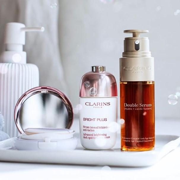 B-glowing:Clarins 25% OFF