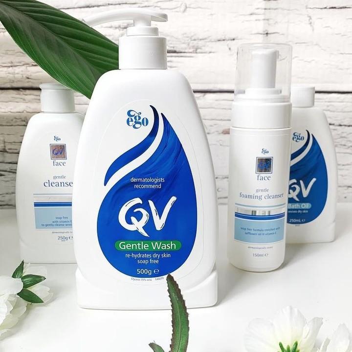 Escentual:QV skincare 温和洗面奶、面霜等护肤