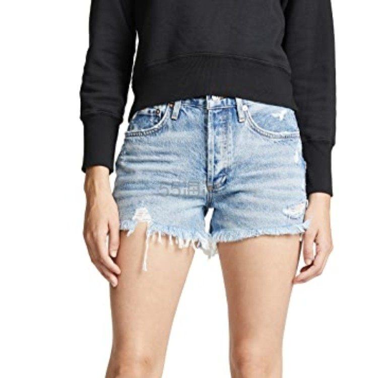 【新客首单高返18%】AGOLDE Parker 复古宽松版型超短裤